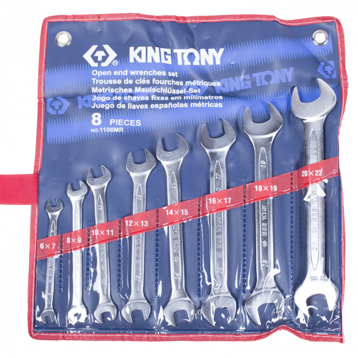 Набор ключей KING TONY 1108MR
