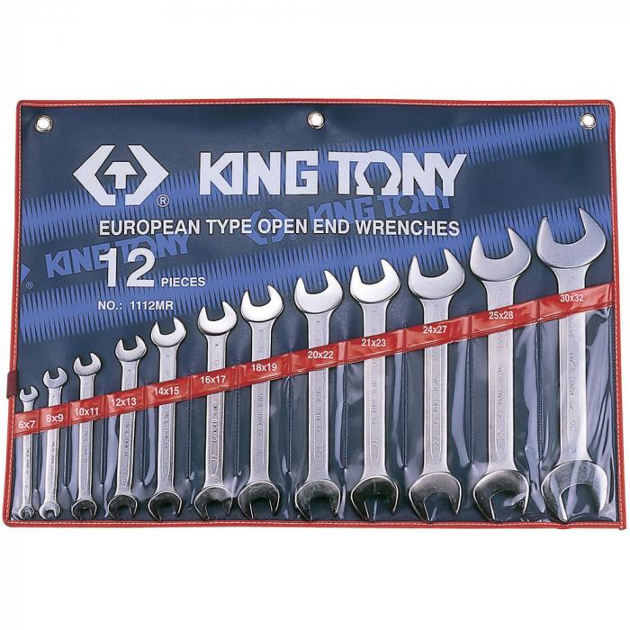 Набор ключей KING TONY 1112MR