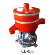Вибросито круглое из низкоуглеродистой стали Виромаш CВ-0,6 (2 деки)