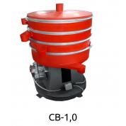 Вибросито круглое из низкоуглеродистой стали Вибромаш CВ-1,0 (1 дека)