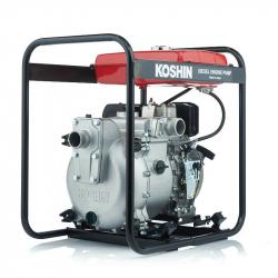 Дизельная мотопомпа для загрязненной воды Koshin KTY-50D