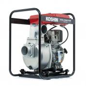 Дизельная мотопомпа для загрязненной воды Koshin SEY-100D