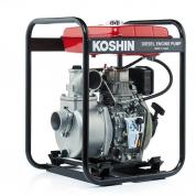 Дизельная мотопомпа для загрязненной воды Koshin SEY-80D