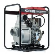 Дизельная мотопомпа для загрязненной воды Koshin STY-100D