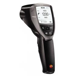 Высокотемпературный ИК-термометр с 4-х точечным лазерным целеуказателем (оптика 50:1) Testo 835-T2