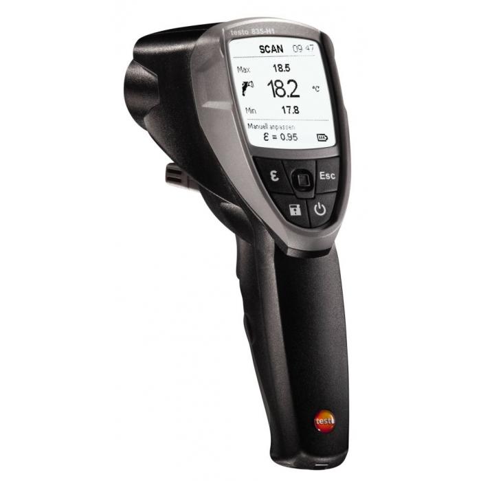 Инфракрасный термометр с интегрированным модулем влажности Testo 835-H1