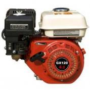 Двигатель бензиновый GROST GX 120 (S тип)