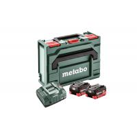 Базовый комплект Metabo 2 LiHD 8,0 Ач, metaBOX 145