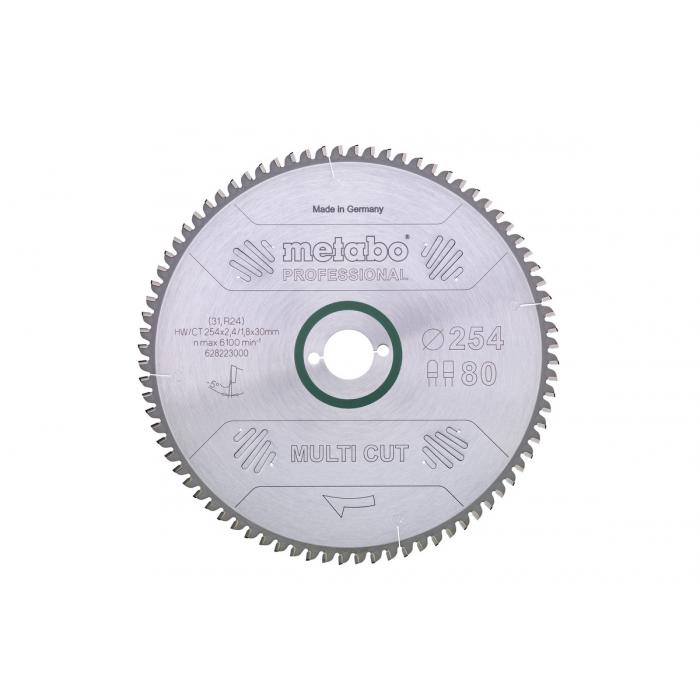 Пильное полотно Metabo Multi cut professional, 305x30, Z96 FZ/TZ, 5