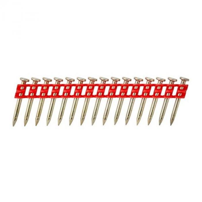 Гвозди DeWALT DCN8903038, для DCN890 по бетону, (Красные) 3.0 x 38, оцинкованные, 1005 шт./пачка