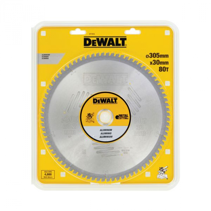 Пильный диск DeWALT METAL CUTTING DT1916, 305/30 мм.