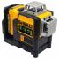 Самовыравнивающийся линейный зеленый лазерный уровень DeWALT DCE089D1G
