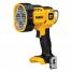 Аккумуляторный фонарь DeWALT DCL043, 120-1000 люмен, 18 В, XR