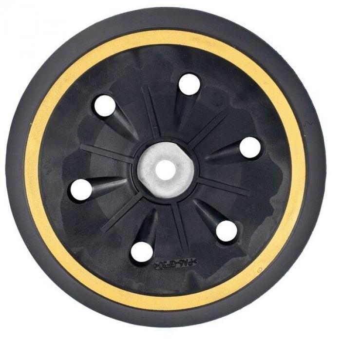 Подошва средней жесткости с липучкой DeWALT DE2643, диаметр 150 мм для эксцентриковой шлифмашины D26410