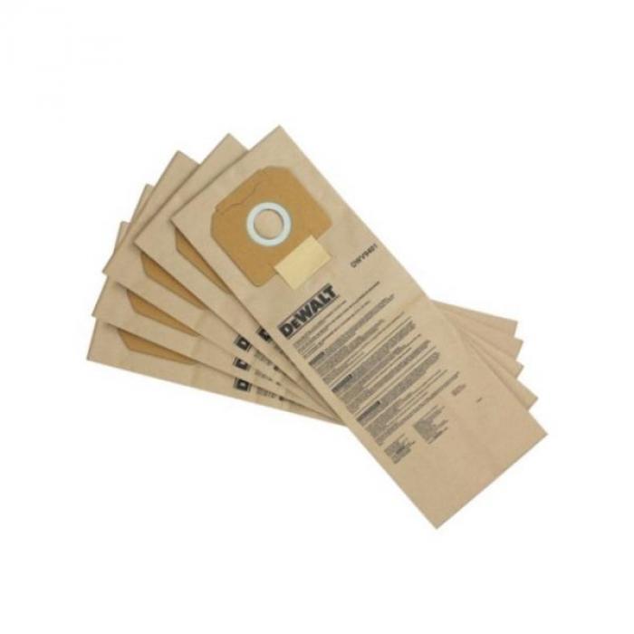 Мешки бумажные DeWALT DWV9401, для пылесосов DWV900/DWV901/DWV902