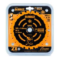 Пильный диск DeWALT EXTREME DT10300, 165/20 мм.