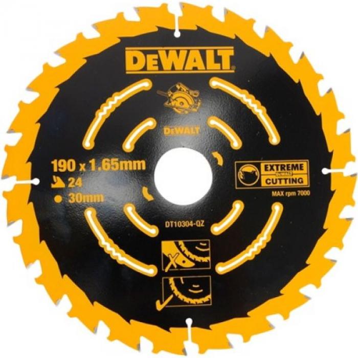 Пильный диск DeWALT EXTREME DT10304, 190/30 мм.