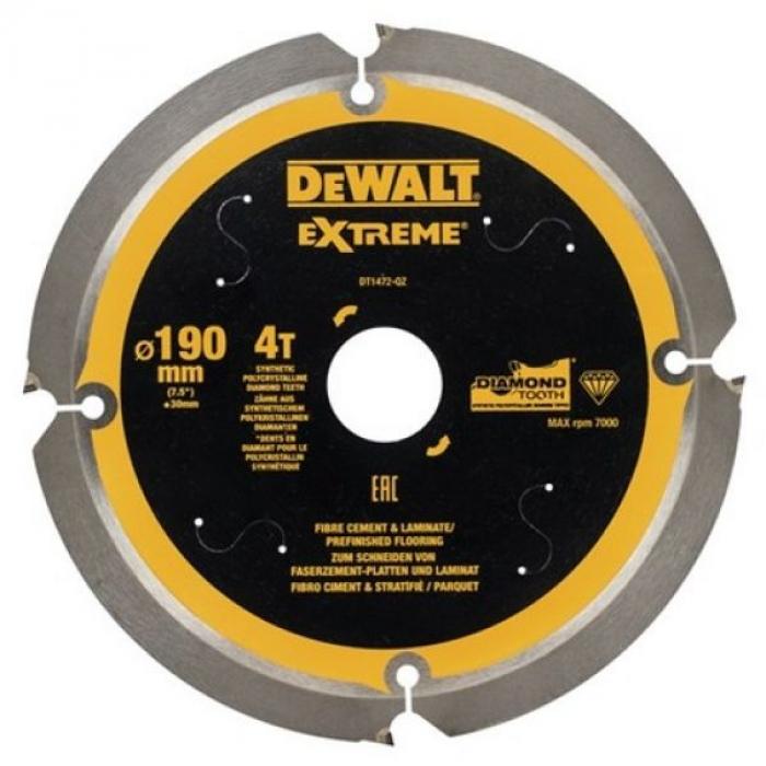 Универсальный пильный диск DeWALT DT1472, 190/30 мм.