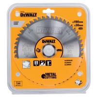 Пильный диск DeWALT METAL CUTTING DT1912, 190/30 мм.