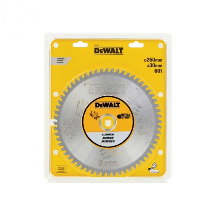 Пильный диск DeWALT METAL CUTTING DT1915, 250/30 мм.