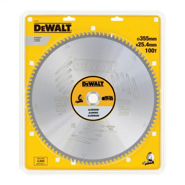 Пильный диск DeWALT METAL CUTTING DT1917, 355/25.4 мм.