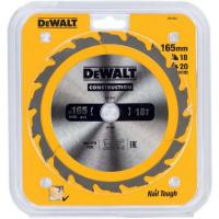 Пильный диск DeWALT CONSTRUCTION DT1933, 165/20 мм.