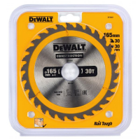 Пильный диск DeWALT CONSTRUCTION DT1937, 165/30 мм.