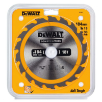 Пильный диск DeWALT CONSTRUCTION DT1941, 184/30 мм.