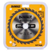 Пильный диск DeWALT CONSTRUCTION DT1942, 184/30 мм.