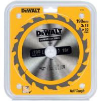 Пильный диск DeWALT CONSTRUCTION DT1943, 190/30 мм.