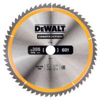 Пильный диск DeWALT CONSTRUCT DT1960, 305/30 мм.