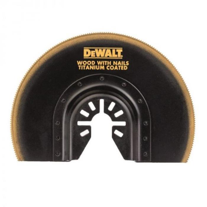 Сегментированный пильный диск DeWALT DT20711, Ti, 23 x 100 мм, для мультитула