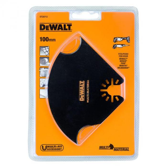 Насадка для многофункционального инструмента (100 мм) DeWALT DT 20712