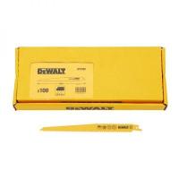 Полотно DeWALT DT2320, по дереву для сабельных пил биметаллическое, BiM, 228 x 4.2 мм, S1111DF, 100 шт.