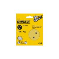 Шлифовальные круги DeWALT DT3106, 125 мм, 8 отверстий, 180G, 10 шт.