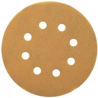 Шлифовальные круги DeWALT DT3117, 125 мм, 8 отверстий, 240G, 25 шт.