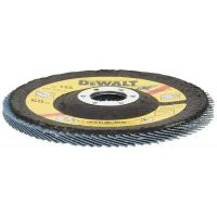 Лепестковый круг DeWALT EXTREME DT3266, 125 x 22.2 мм, 60G, тип 29