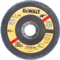Лепестковый круг DeWALT EXTREME DT3309, 125 x 22.2 мм, 60G, тип 27