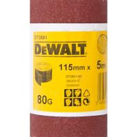 Шлифлист DeWALT DT3581, 5 м x 115 мм, 80G
