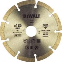 Диск алмазный сегментированный для угловой шлифмашины, универсальный DeWALT DT3711, (125 x 22.2 мм)