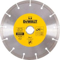 Алмазный круг сегментный универсальный DeWALT DT3721, 180 x 22.2 мм, h=7