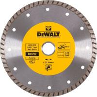 Алмазный круг DeWALT DT3722, Turbo, универсальный, 180 x 22.2 мм, h=7
