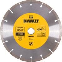 Диск алмазный сегментированный универсальный DeWALT DT3731, (230 x 22.2 мм) для бетона