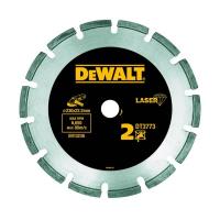Алмазный круг сегментный по абразивным материалам DeWALT DT3773, 230 x 22.2 мм, h=7.5