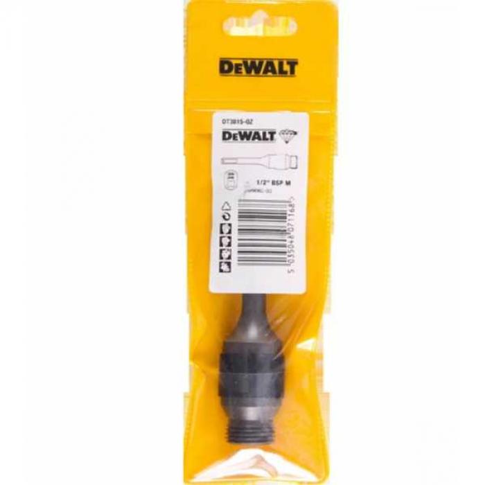 Адаптер DeWALT DT3815, SDS+, 1/2 дюйма, наружный для алмазных коронок