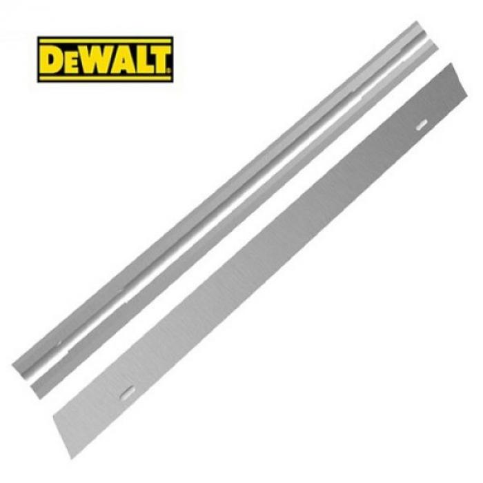 Двусторонние ножи для электрорубанков DeWALT DT3905, (HSS, 82 мм, 1 пара)