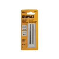 Двусторонние ножи для электрорубанков DeWALT DT3906, (TCT, 82 мм, 1 пара)