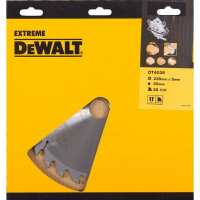 Пильный диск DeWALT EXTREME WORKSHOP DT4036, 235/30 мм.
