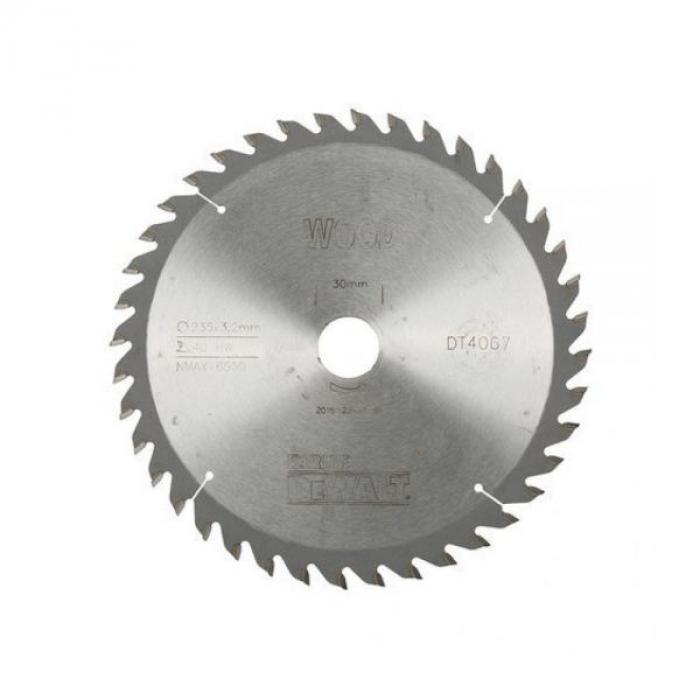 Пильный диск DeWALT EXTREME WORKSHOP DT4067, 235/30 мм.