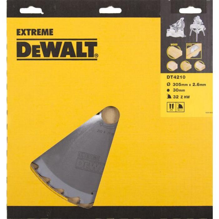 Пильный диск DeWALT EXTREME WORKSHOP DT4210, 305/30 мм.